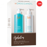 Set sampon si conditioner Moroccanoil Hydration